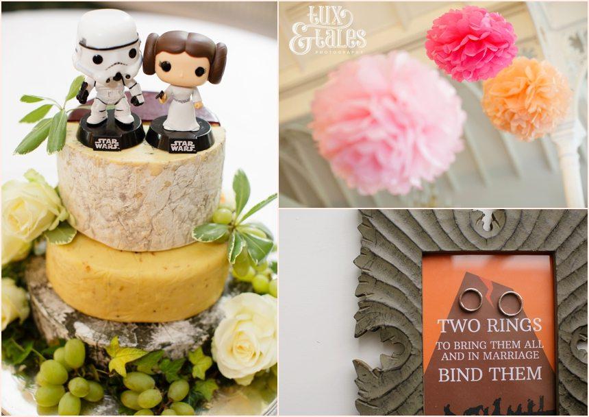 stylish star wars themed wedding
