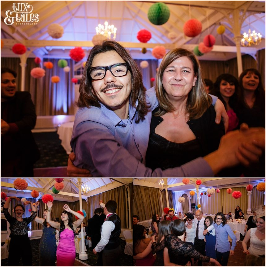 Dancing and partying at Old Swan Hotel in Harrogate