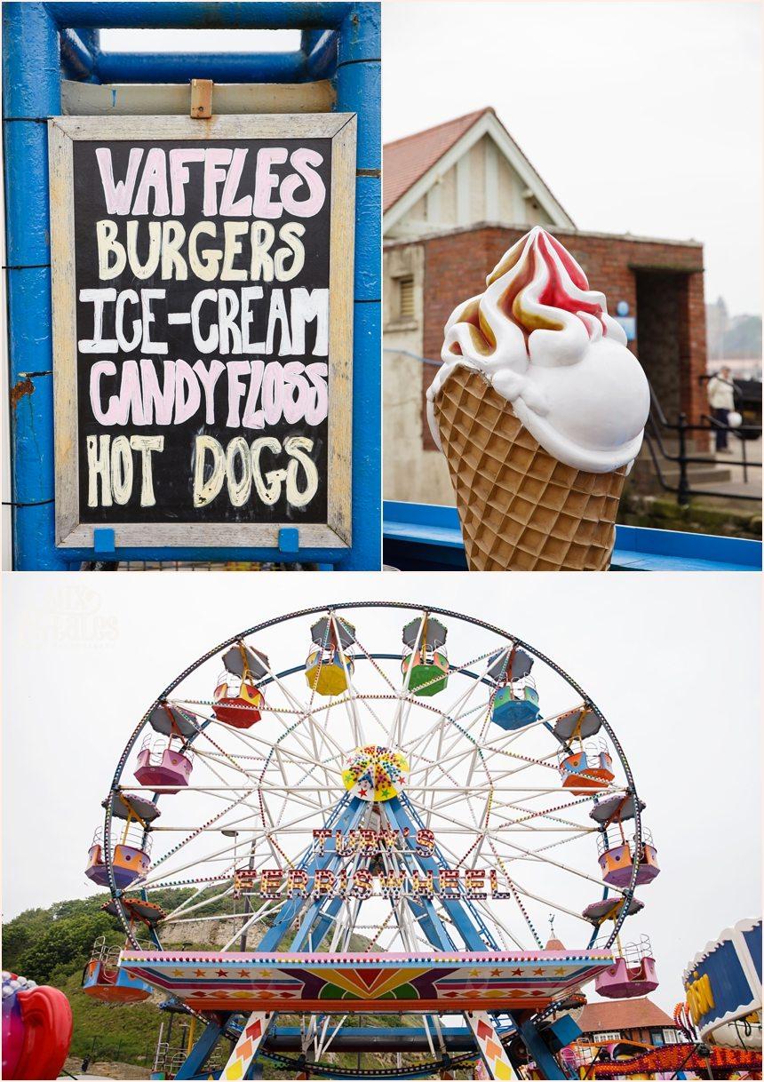 Carnival engagement shoot Luna Park Scarborough