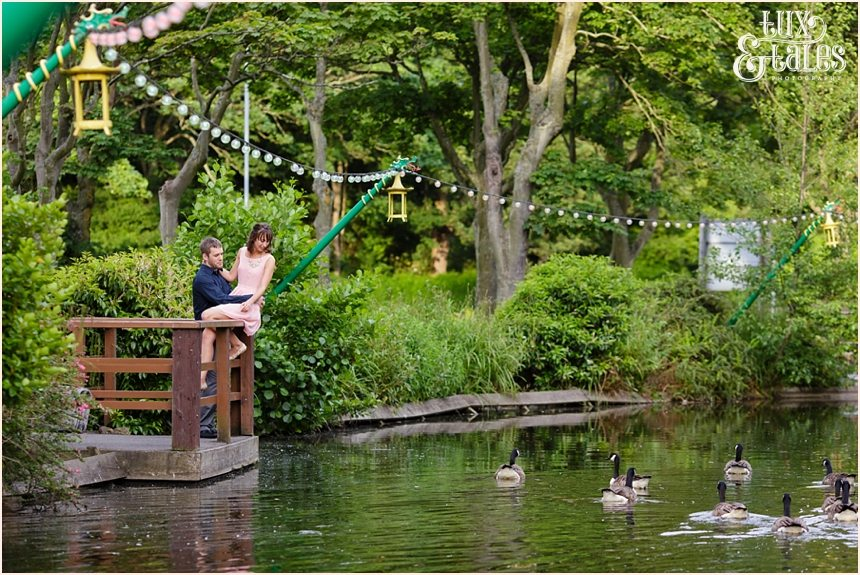 Engagement photography at Peasholme Park