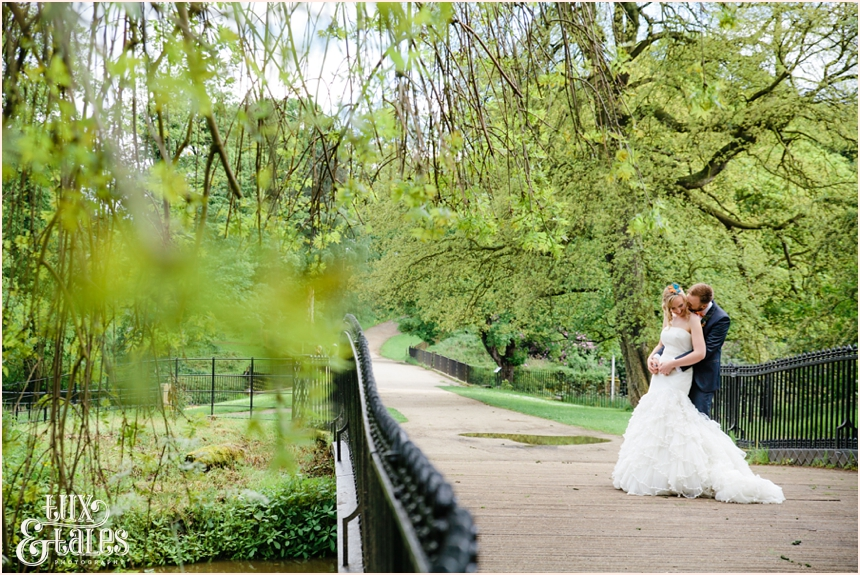 Wedding photography at Yorkshire Sculpture Park