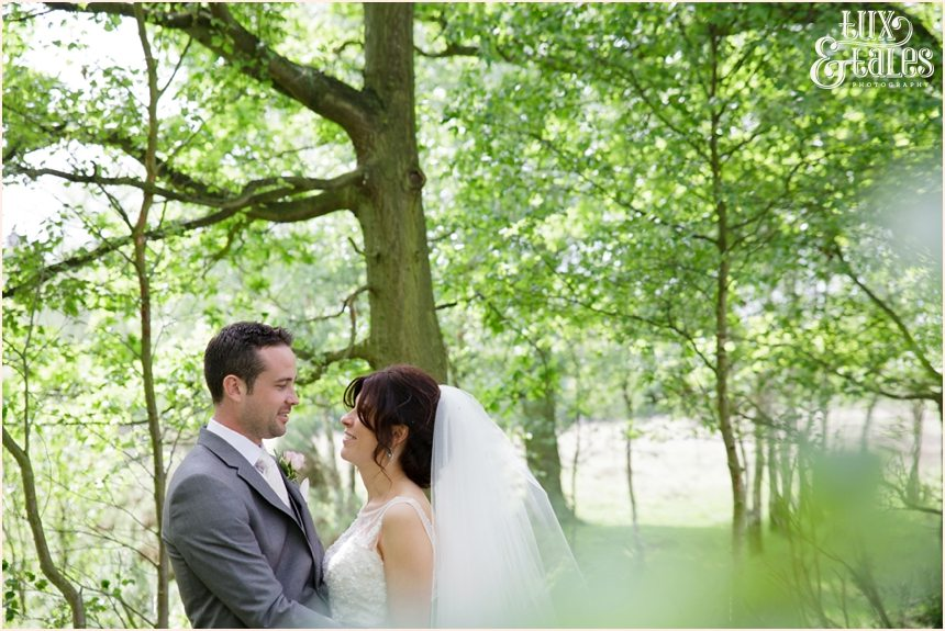 York wedding photography bride and groom on country lane