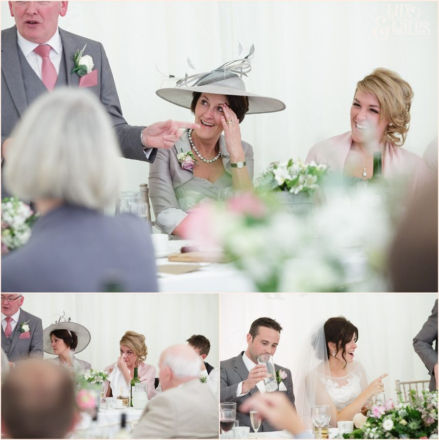 Touching moments in speeches at York Wedding