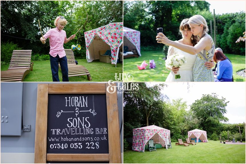 Back garden wedding in Altrincham
