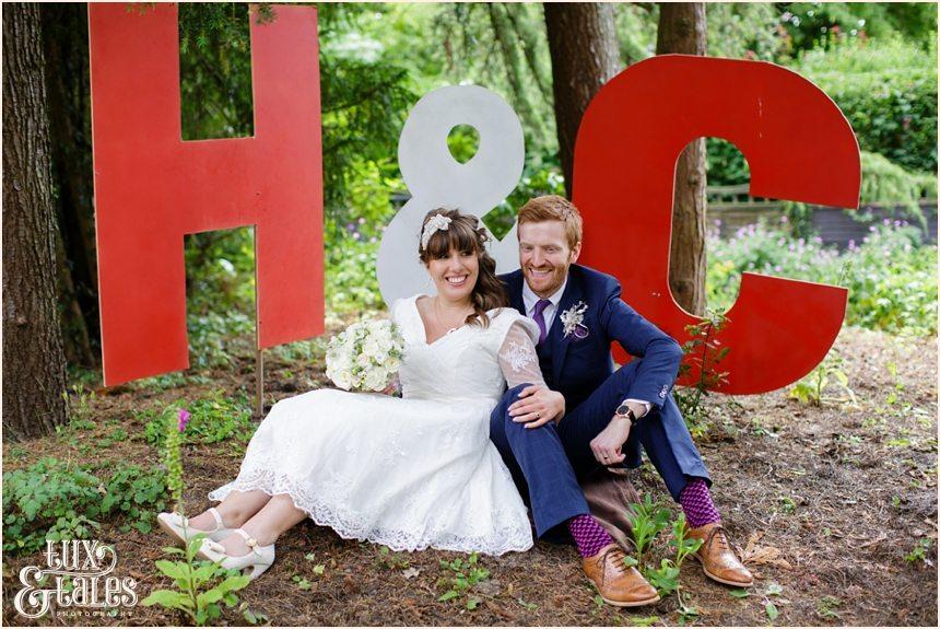 Altrincham Tipi Garden Outdoor Wedding Tux & Tales Photography