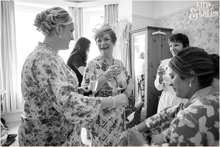 Woodlands B&B Wedding Documentary Photography bride preparation