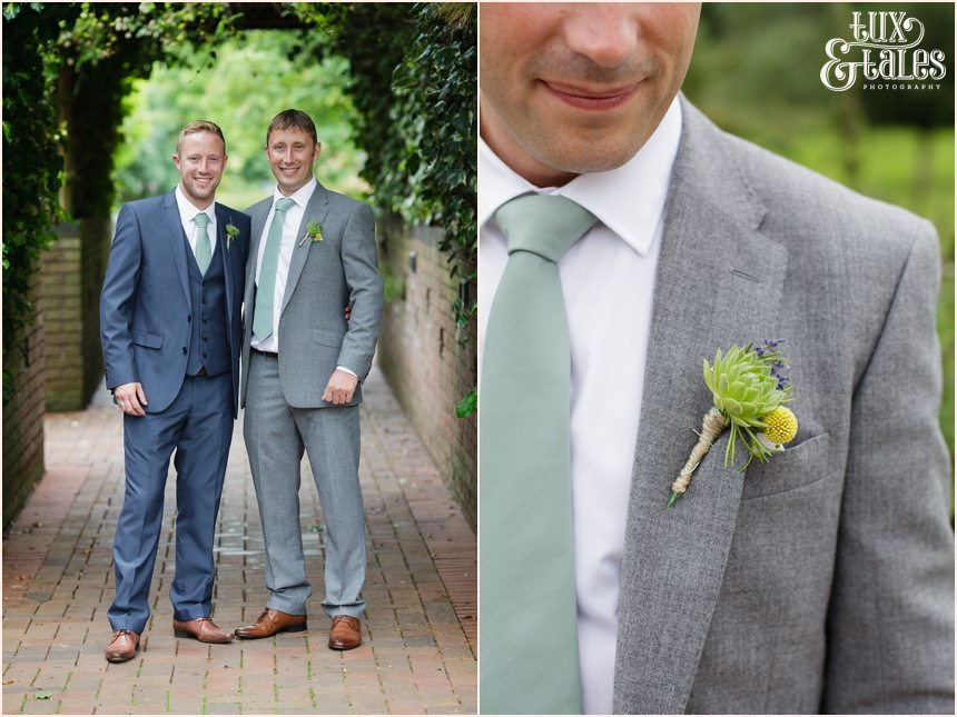 Avoncroft Museum wedding photography groom details