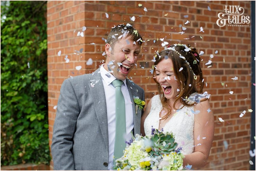 Confetti Avoncroft Mueseum Wedding Photography
