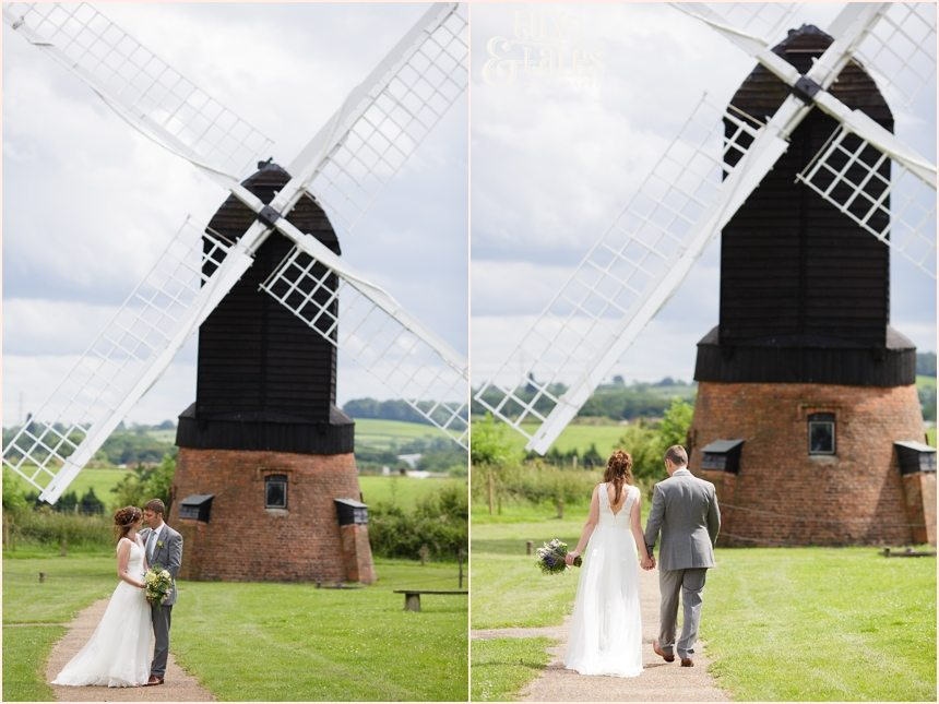 Avoncroft Museum Wedding Photographer windmill portraits Tux & Tales Photography