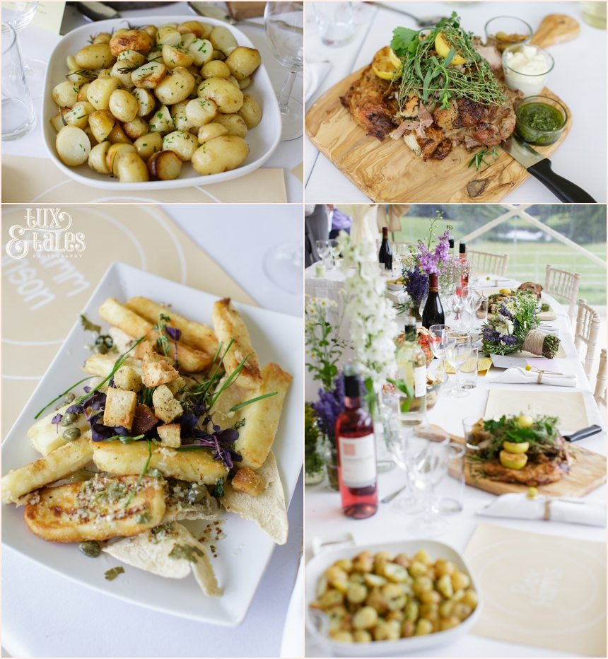 Food cateringat Woodlands B&B