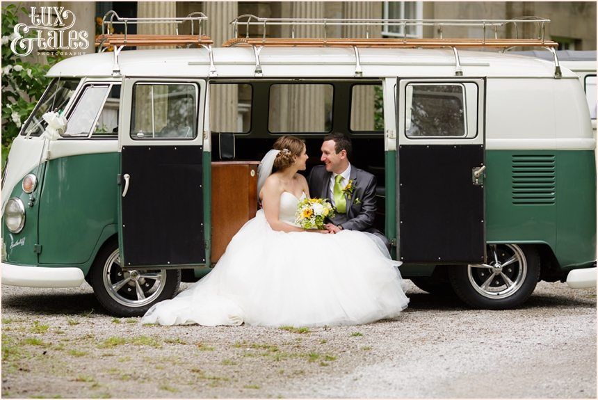 Taitlands Wedding photography VW van quirky