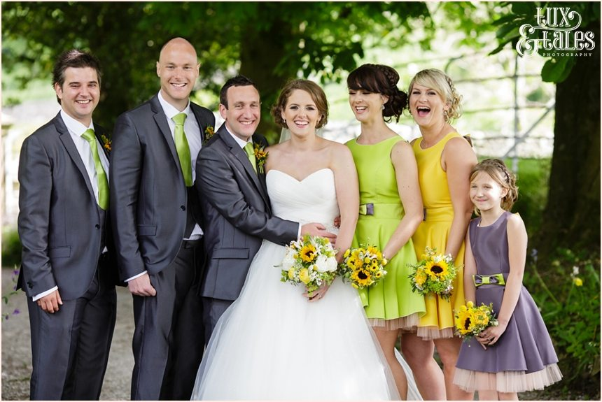 Taitlands wedding photographysunflower theme yellow green