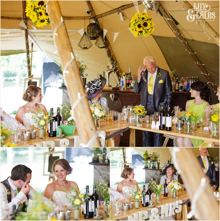 Festival Themed Tipi wedding at Newton Grange