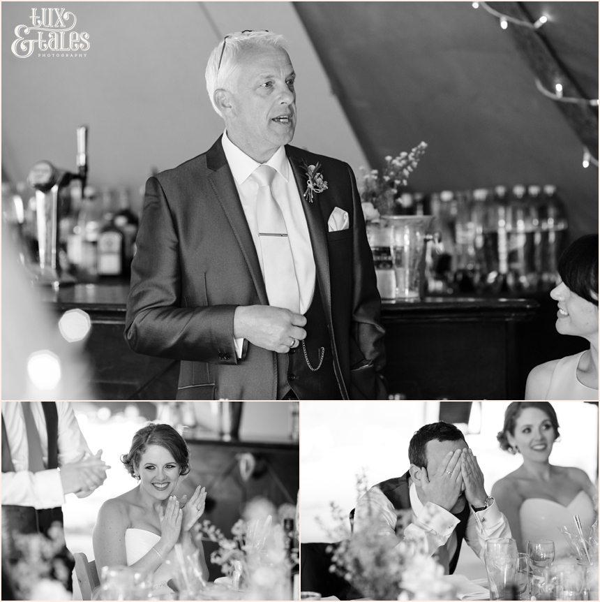 Newton Grange Wedding photography festival themed
