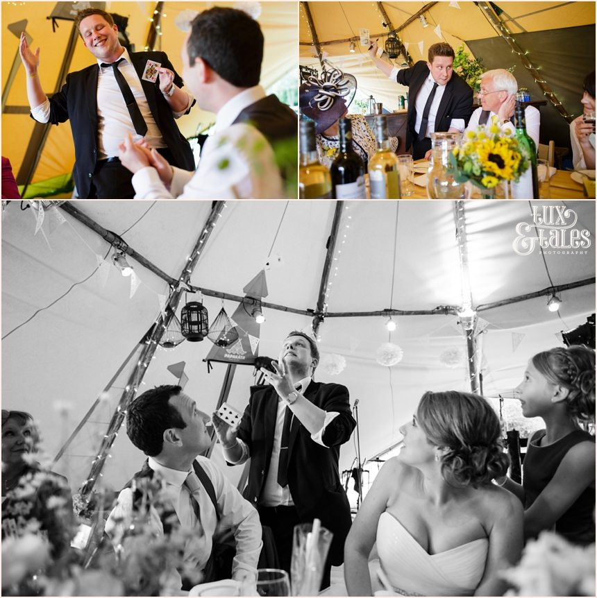 Tipi Wedding at Newton Grange Wedding