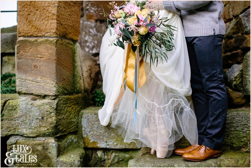 York Wedding Photographer Danby Castle Tux & Tales Photographer Wool, Tulle wood & ballerina