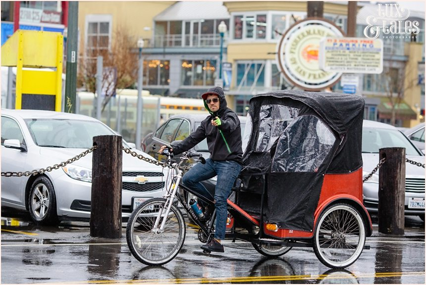 San Francisco Photography - Rickshaw Driver