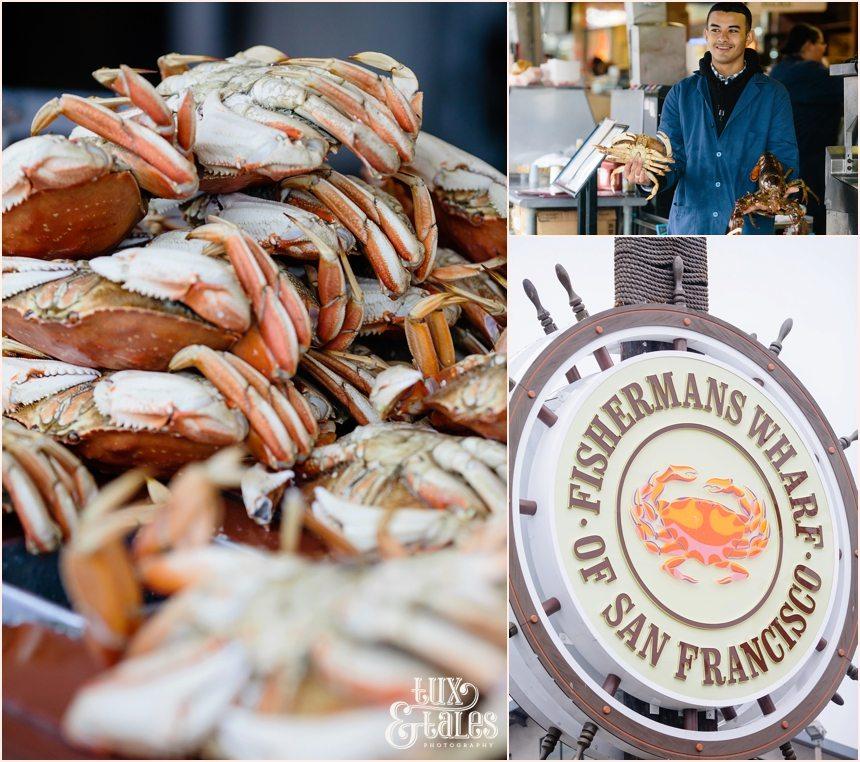 San Francisco Photography - Crab seller at Fisherman's Wharf