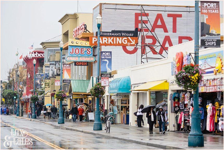 San Francisco Photography - Vibrant Street Scene
