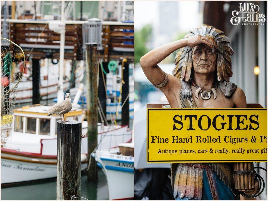 San Francisco Photography - Cigar shop indian - Stogies