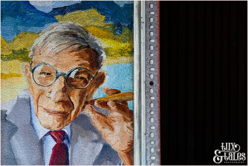 San Francisco Photography - George Burns Painting
