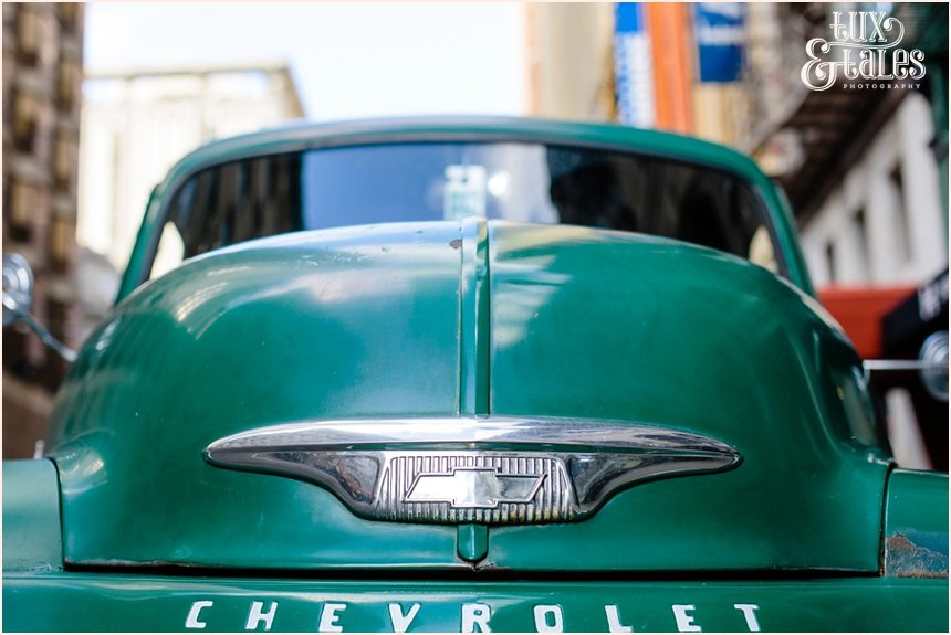 San Francisco Photography - Classic Chevy Pickup Truck
