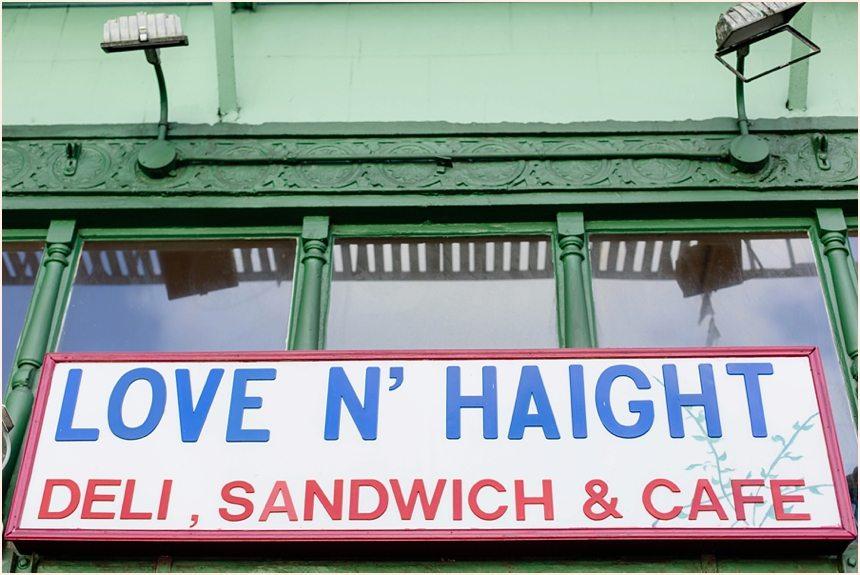 San Francisco Photography - Love & Haight Sign