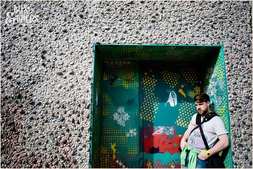 San Francisco Photography - Paul Clapperton in Doorway
