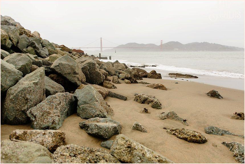 San Francisco Photography - Golden Gate Bridge in the fog