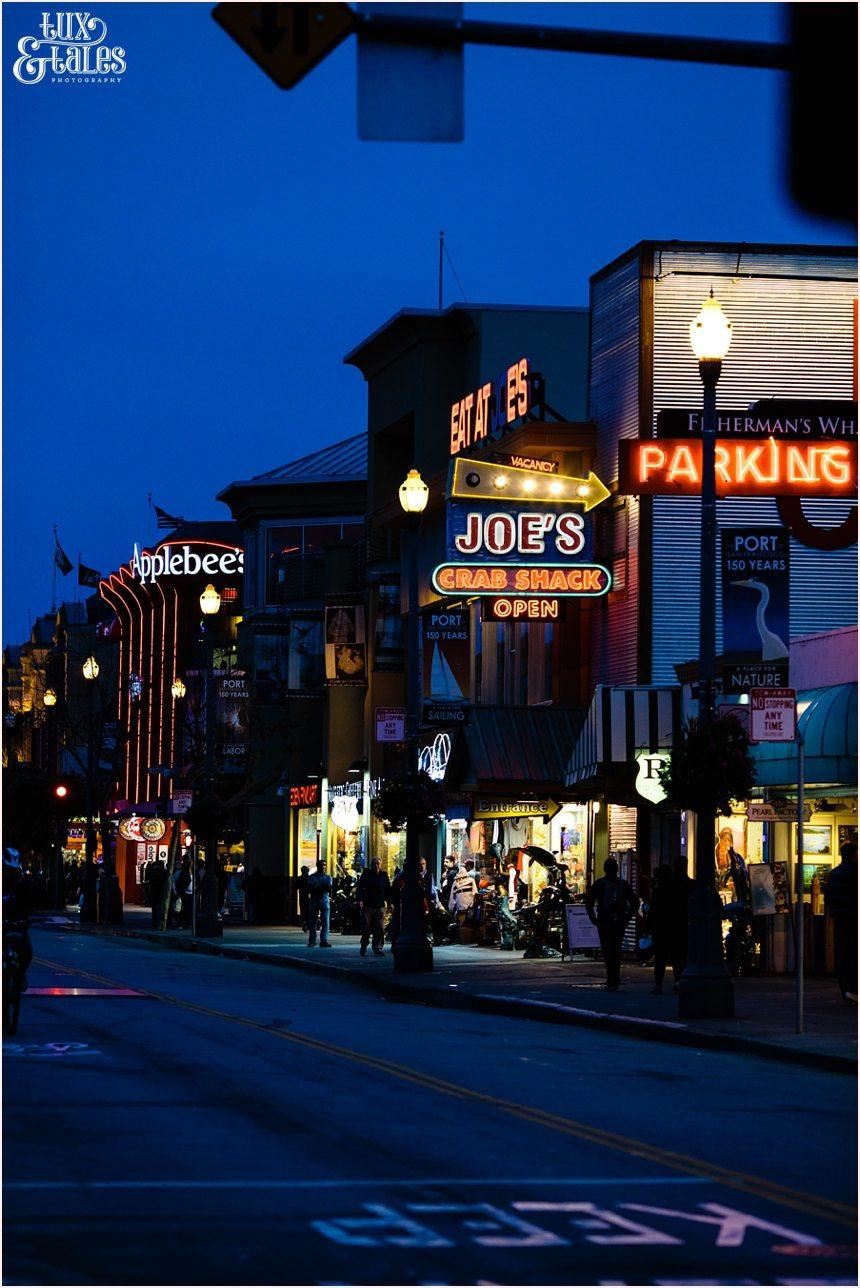San Francisco Photography - Nighttime