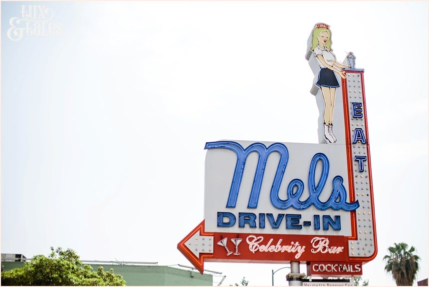 Hollywood Photography | Mel's Drive In Sign