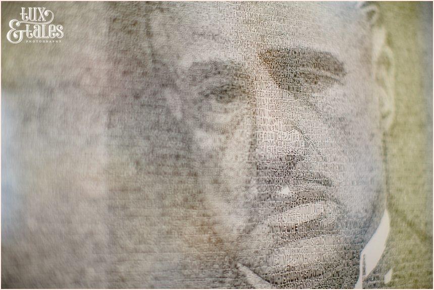 Hollywood Photography | Marlon Brando drawing with words | Ripleys