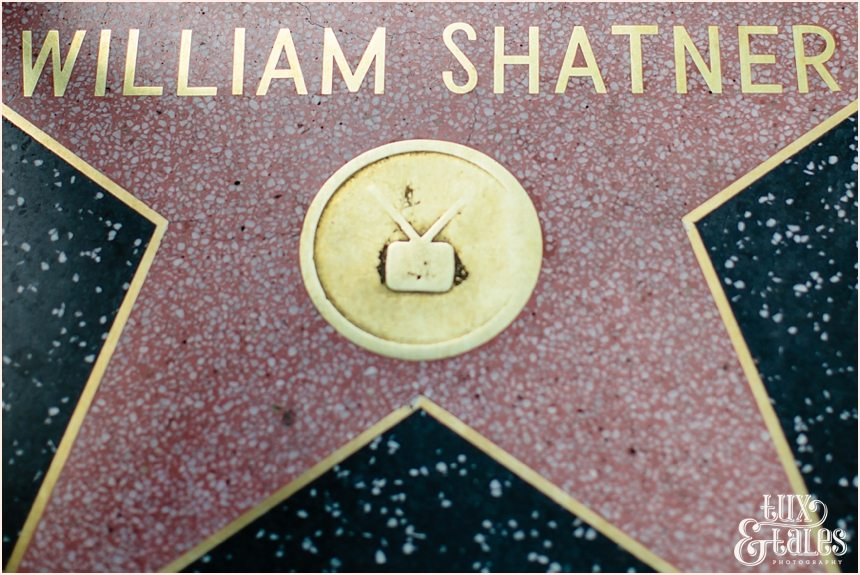 Hollywood Photography | William Shatner Walk fo Fame