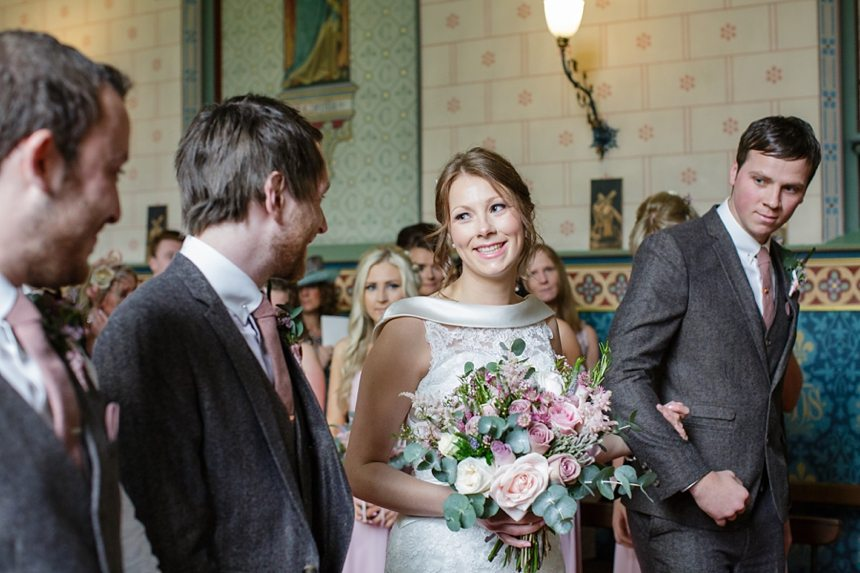Brouthon Hall Chapel Wedding Photography