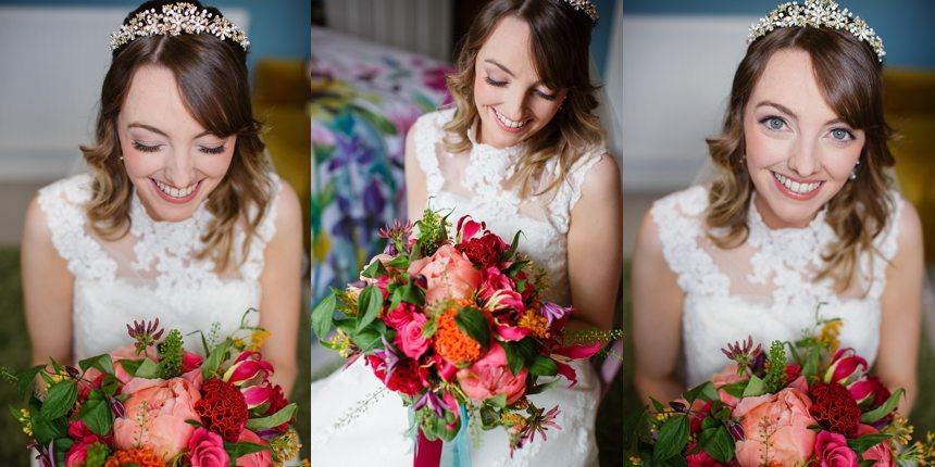 Merchant Adventurers Hall Wedding Photography Bride  Preparation