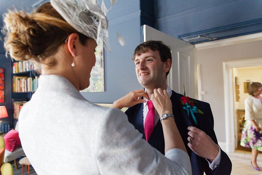 Merchant Adventurers Hall Wedding Photography Groom Preparation
