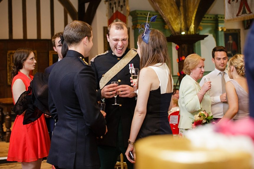 Wedding Photos at Merchant Adventuers Hall in York Funny Candids