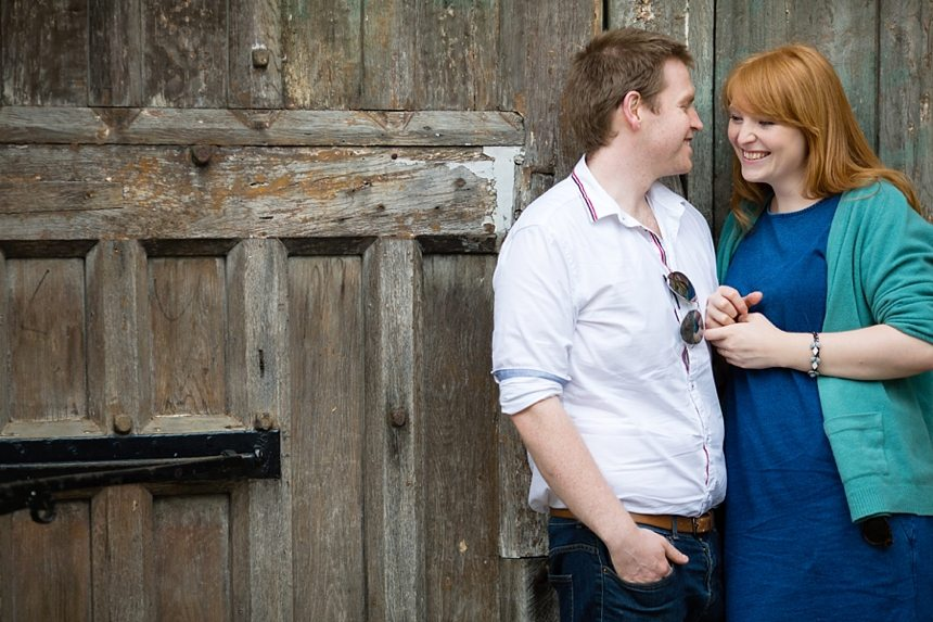 Oxford Engagement Shoot Queens Lane