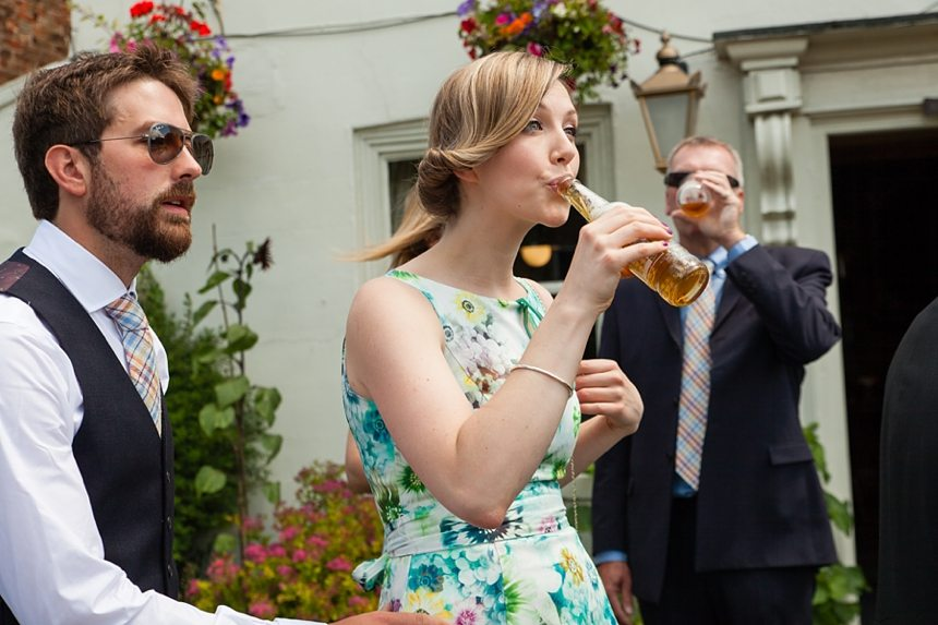 Barmbyfield Barn Wedding Photography Silly fun relaxed