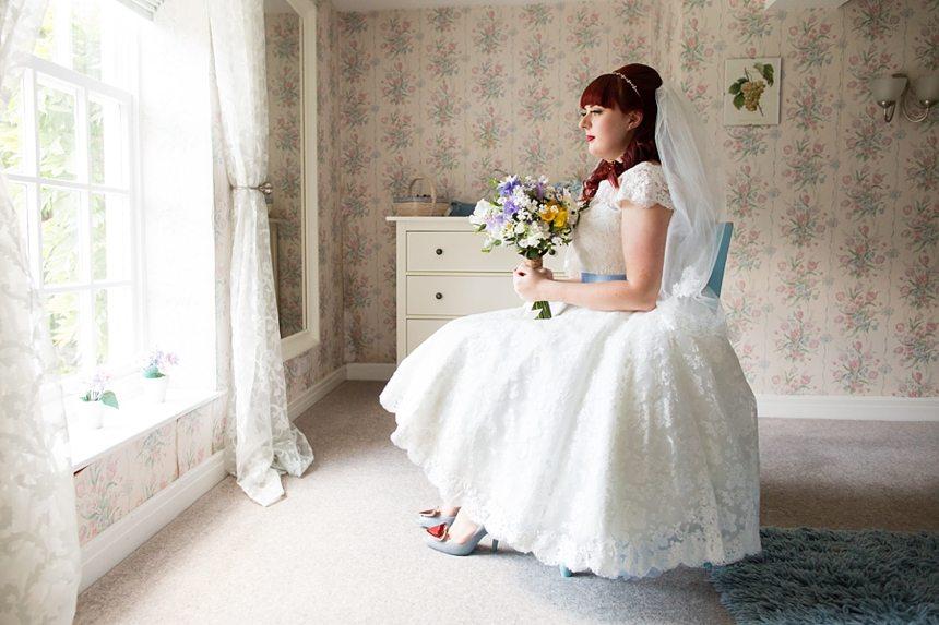 Barmbyfield Barn Wedding Photography Bride Portraits