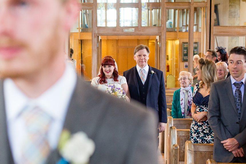 Barmbyfield Barn Wedding Photography St Catherines Church Ceremony