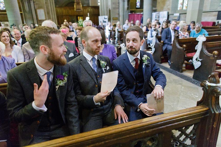 Yorkshire Wedding Photography Ceremony