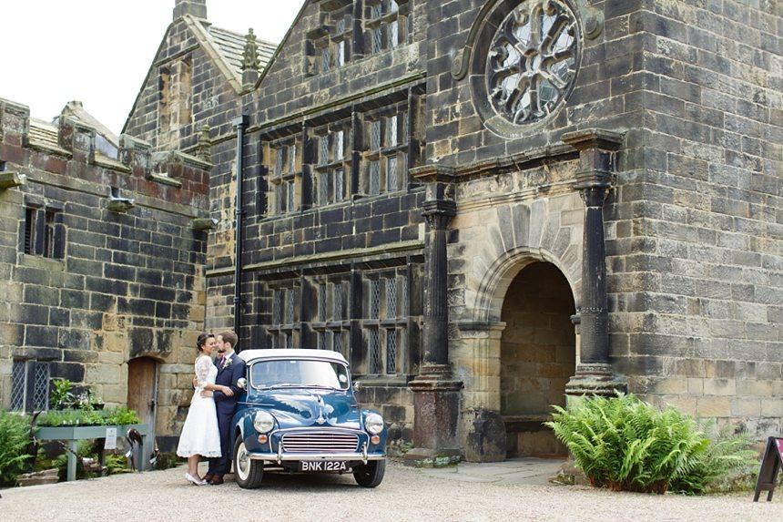 East Riddlesden Hall Wedding Photographer Bride & Groom Wedding Portrait Photography