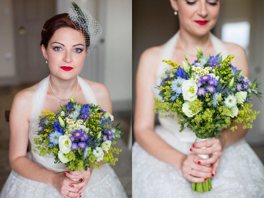 Brodick Castle Wedding Photography bride portraits