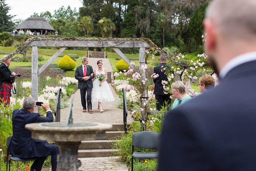 Brodick Castle Wedding Photography Isle of Arran