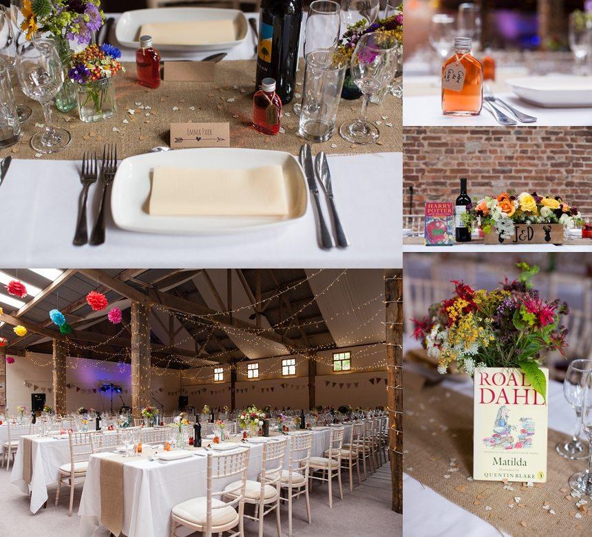 Barmbyfield Barn Wedding Photography rustic details