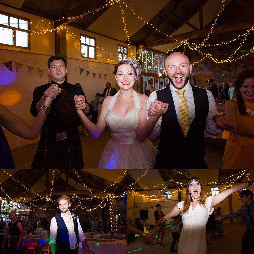 Barmbyfiled Barn wedding photography party dance