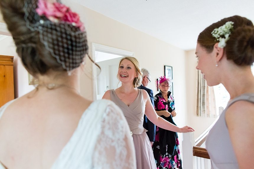 Barmbyfield Barn Wedding Photographer bride preparation
