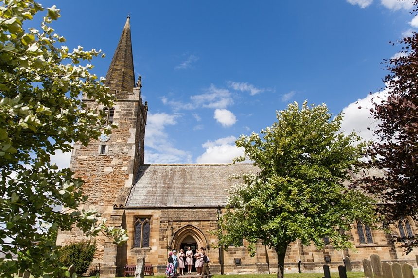 Barmbyfield Barn Wedding Photographer St. Catherines Church Ceremony