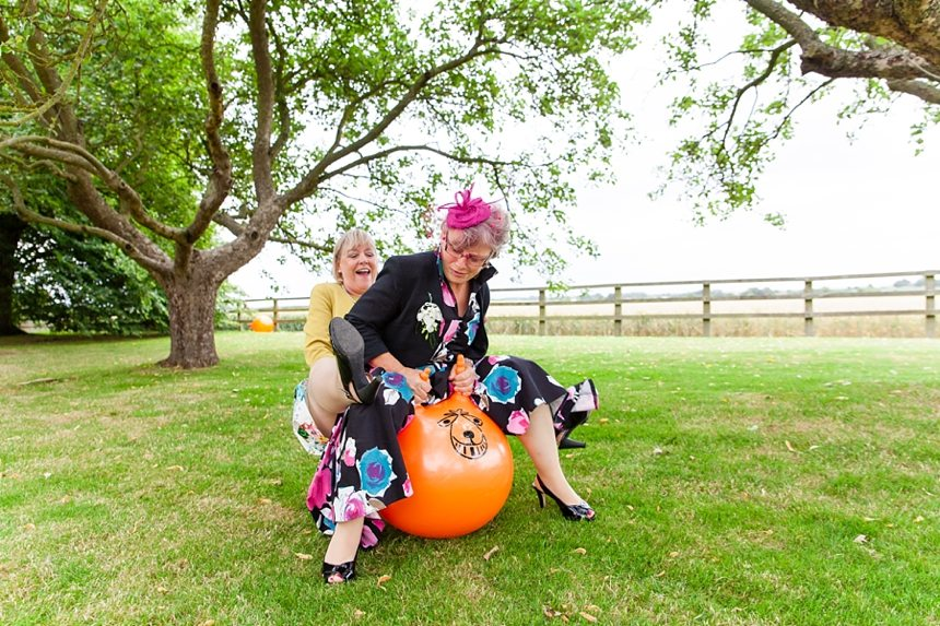 Barmbyfield Barn Wedding Photographer spacehopper